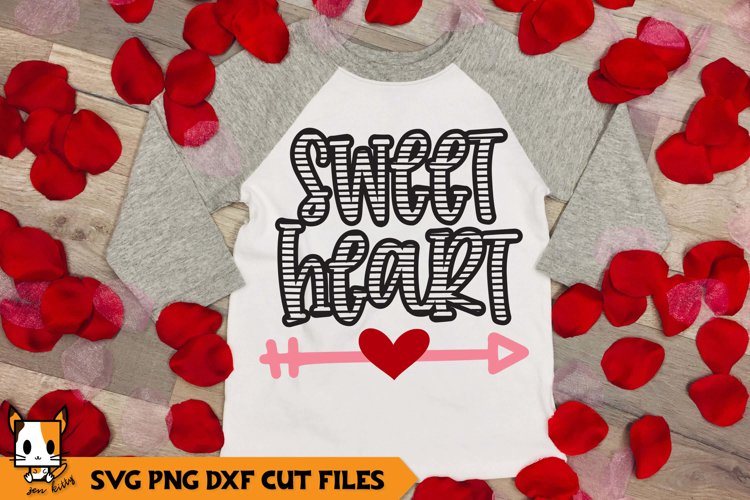 Valentine's Day SVG | Sweetheart example image 1