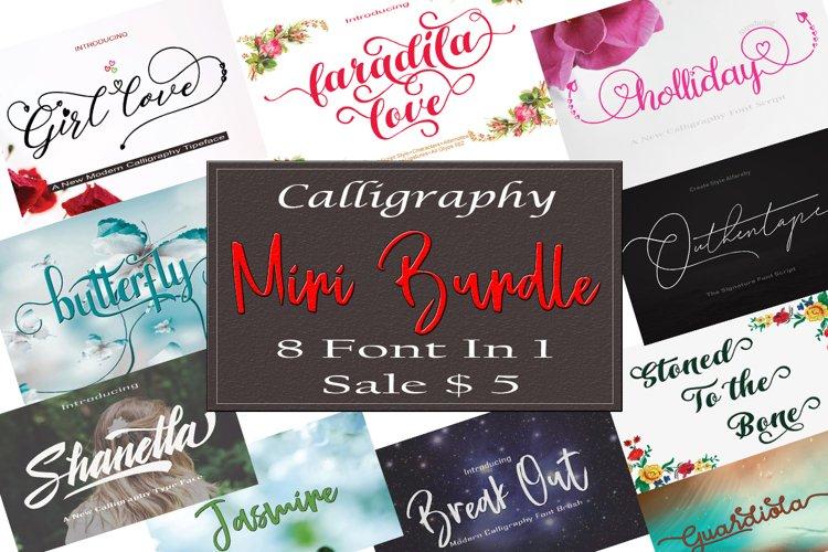 Calligraphy Mini Bundle example image 1