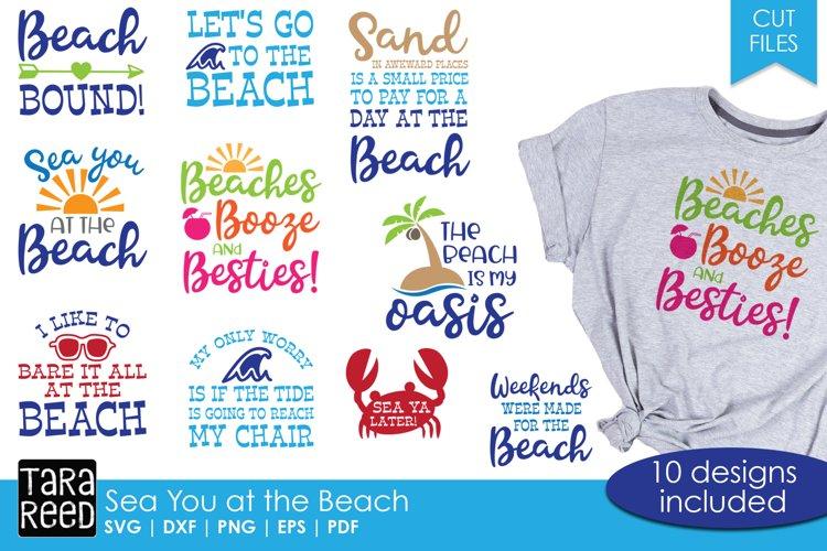 Sea You at the Beach - Beach SVG designs