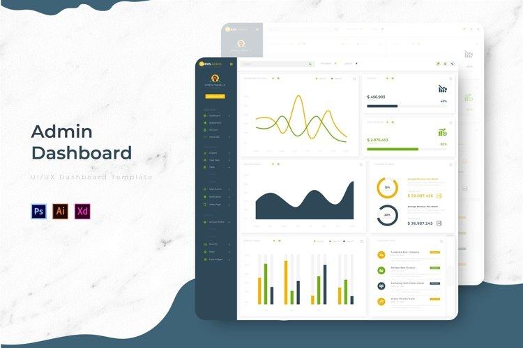 Curos Dashboard | Admin Template example image 1