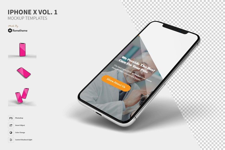 Iphone X Mockups vol.1