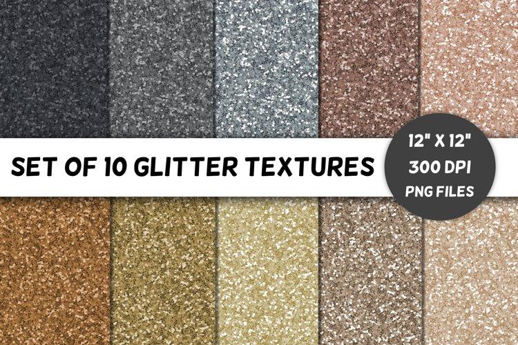 Glitter Backgrounds / Textures / Paper / Neutrals / Volume 4