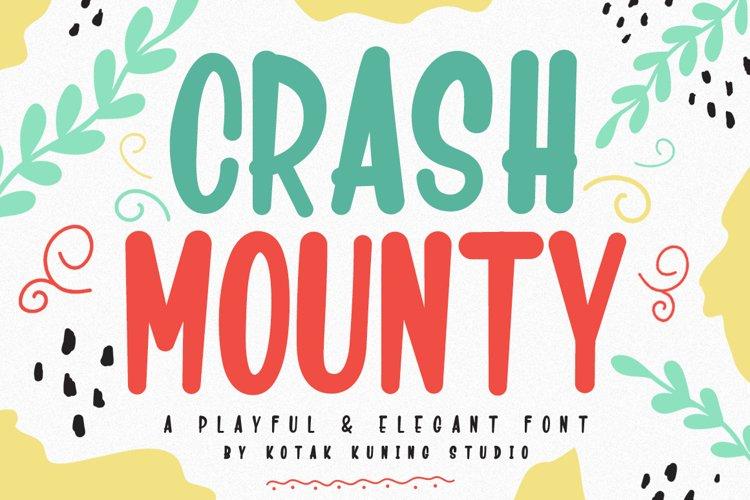 Craft Font - Crash Mounty example image 1