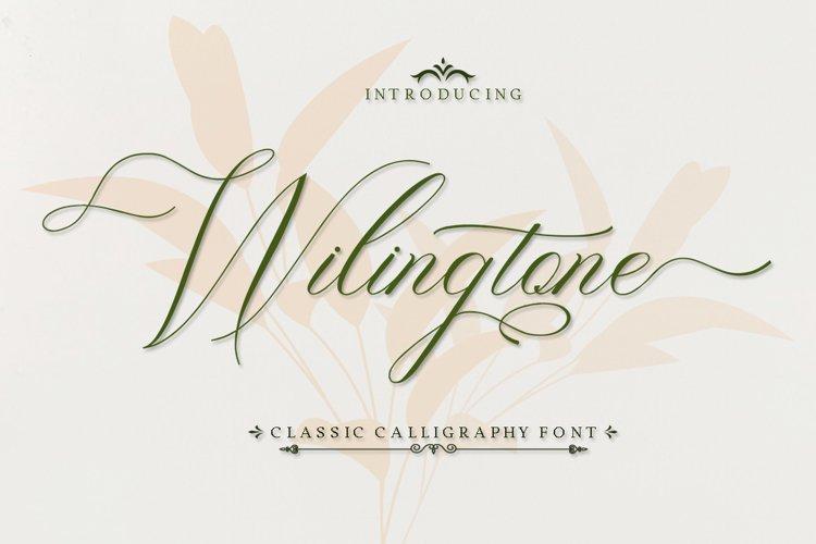 Wilingtone example image 1