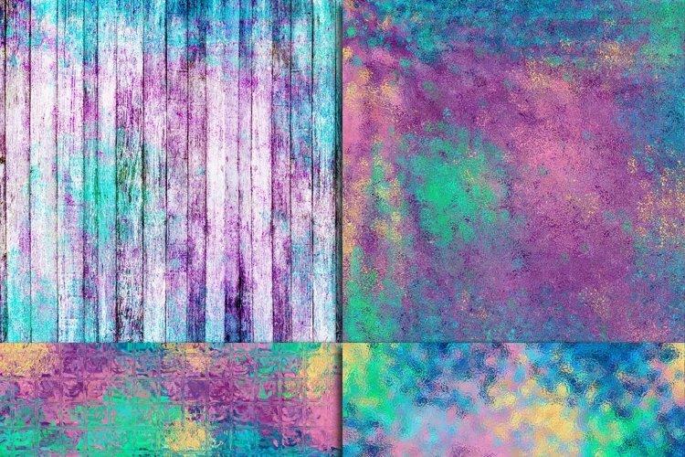 Mermaid Textures Digital Paper - Free Design of The Week Design1