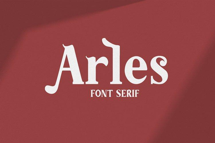 Arles | Serif Font example image 1