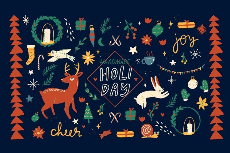Handmade Holiday Illustrations