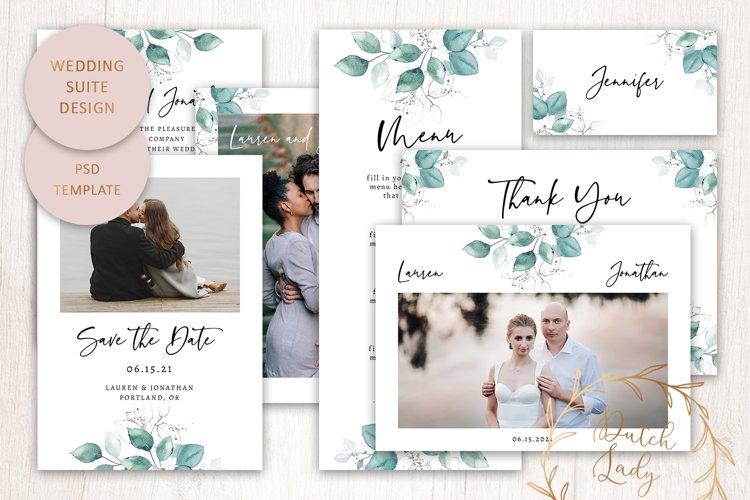 PSD Wedding Suite Template - #1