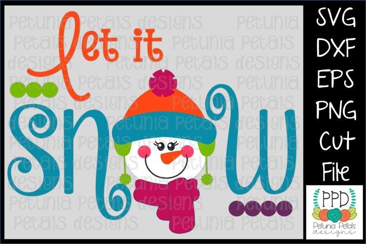 Let It Snow SVG 11219