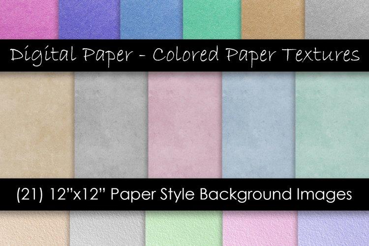 Digital Scrapbook Kraft Paper - Digital Paper Textures example image 1