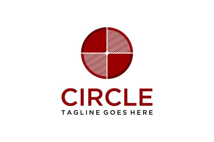 circle geometric logo example image 1