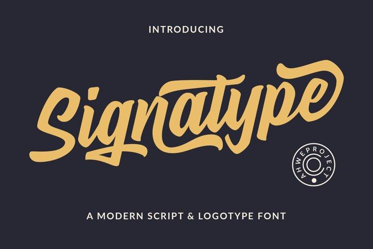 Signatype example image 1