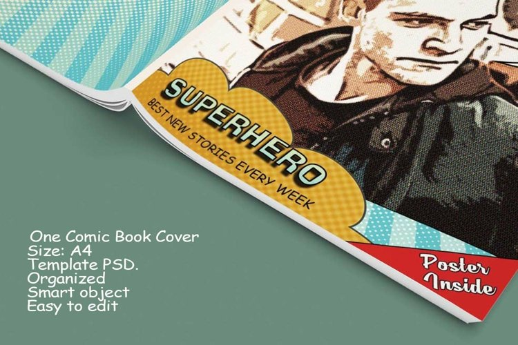 Blank Comic Book Interior Pages & Covers JPG-PDF-PSD-PNG example 2