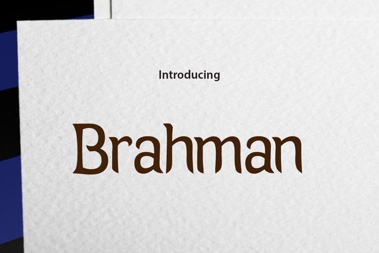 Brahman example image 1