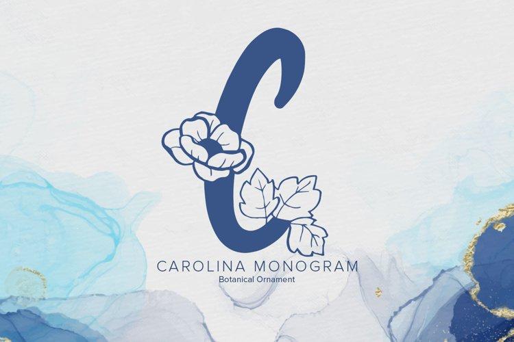 Carolina Monogram example image 1