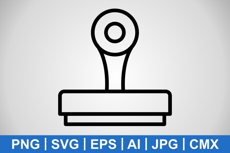 Vector Stamp Icon example image 1