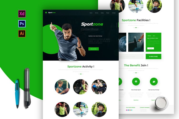 Sportzone | Email Newsletter Template example image 1