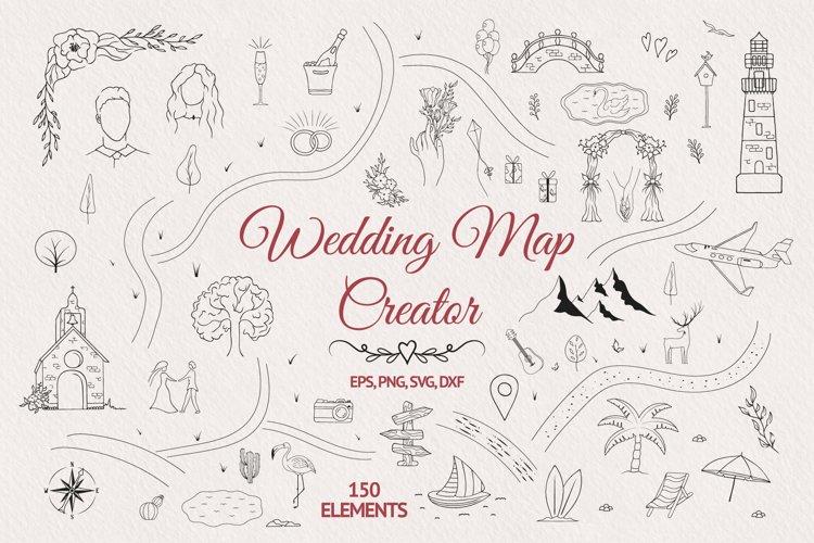 Hand drawn Wedding Map Creator example image 1