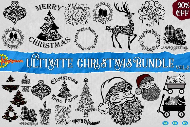 Swirly Christmas Bundle Vol2 example image 1