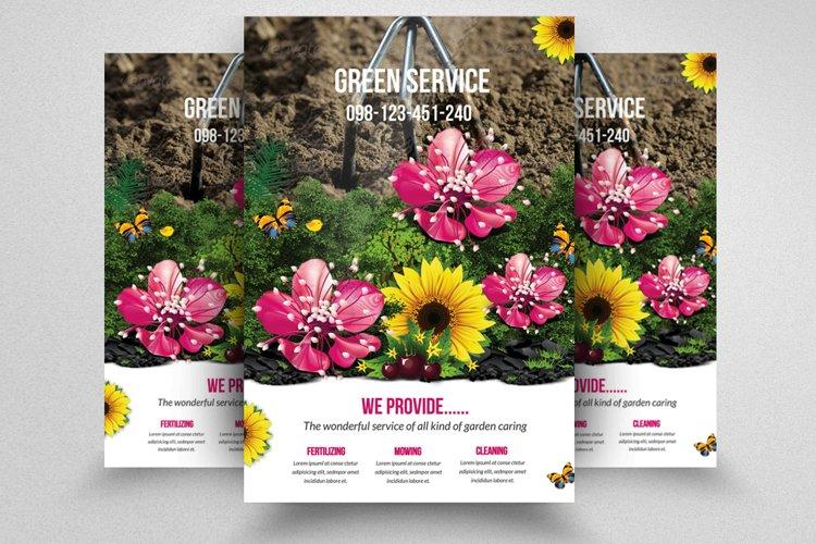 Garden Service Flyer Template example image 1