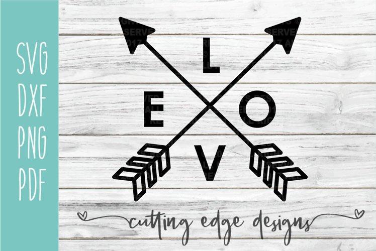 Love Arrow | Valentine SVG | Arrow SVG Cut File