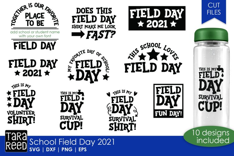 School Field Day - School SVG and Cut Files for Crafters