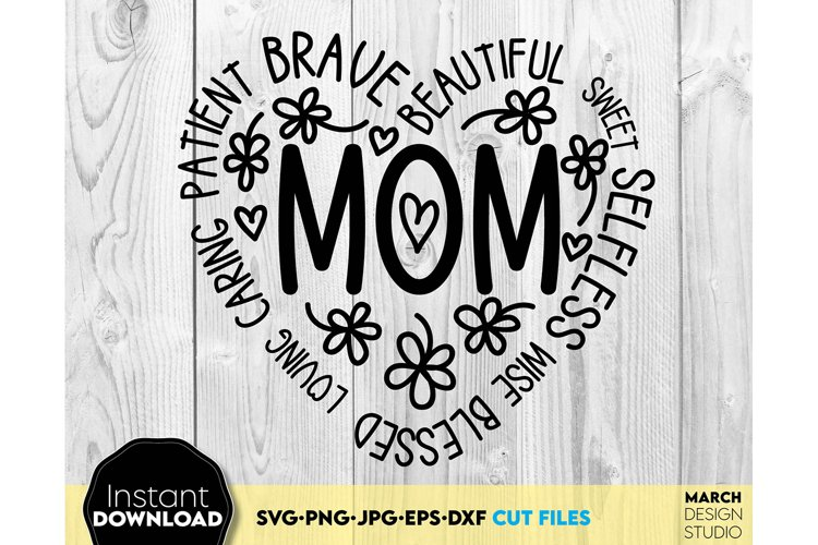 Mother Day svg Mom svg MAMA svg Mothers day svg example