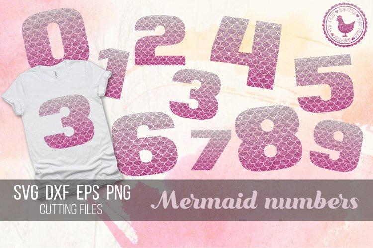 Mermaid numbers, cutting files