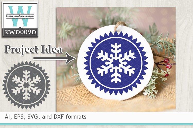 Winter SVG - Ornament Shape
