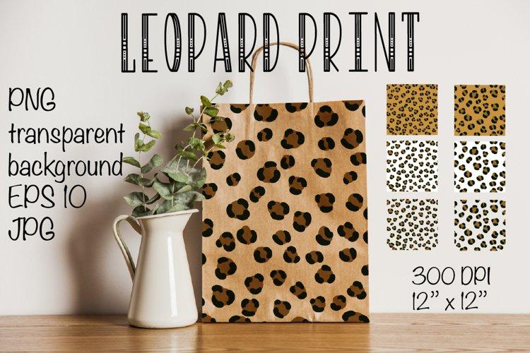 Leopard pattern. Digital Paper leopard pattern Digital Paper