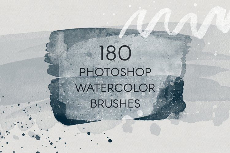 180 PS Watercolor Brushes