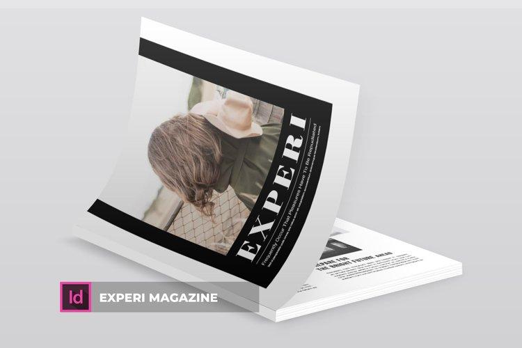Experi   Magazine example image 1