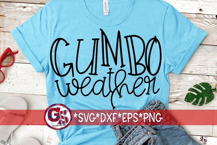 Gumbo Weather SVG DXF EPS PNG