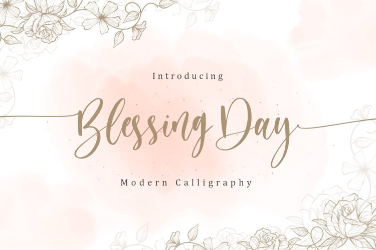 Blessing Day example image 1