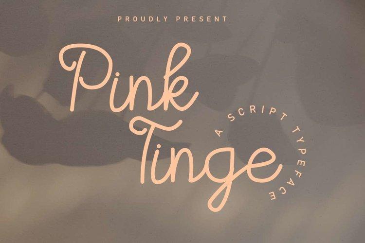 Pink Tinge example image 1