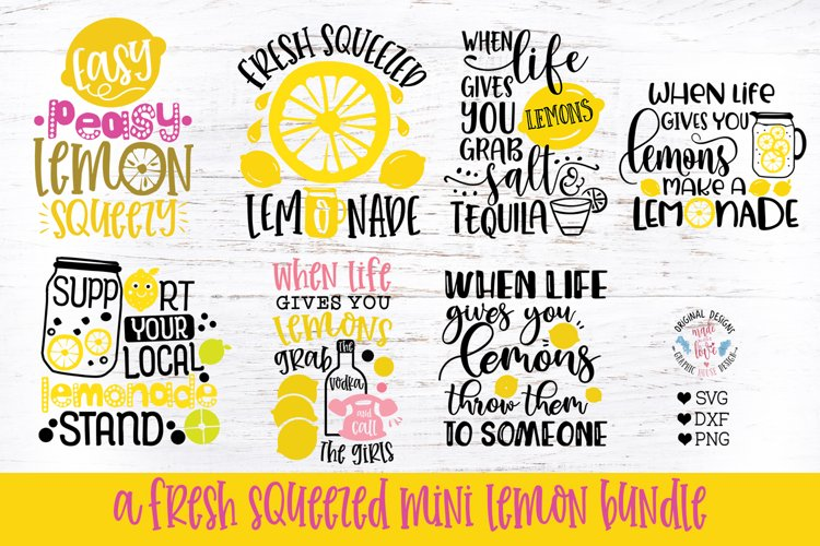 Funny Lemons Cut Files and Sublimation Bundle
