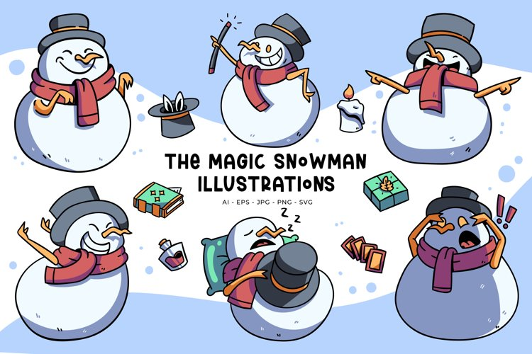 Snowman Illustrations
