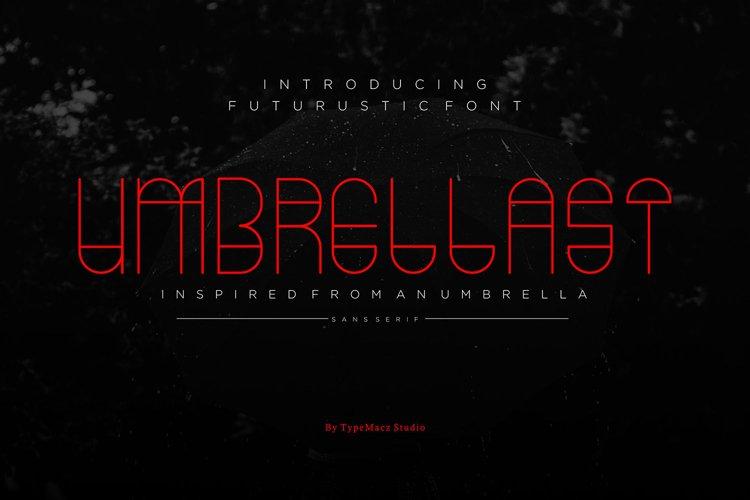 Umbrellast - Sans Serif Font
