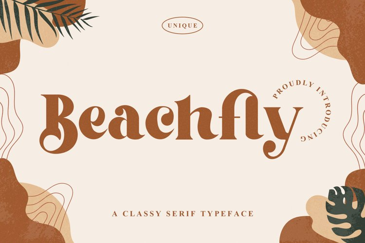 Beachfly - A Classy Serif Typeface example image 1