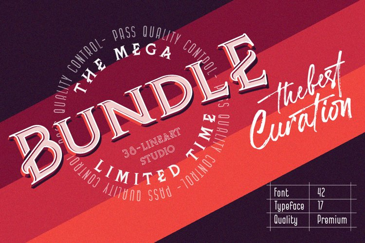 Mega Font Bundle
