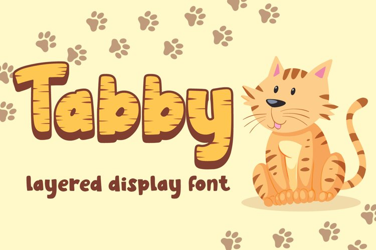 Tabby - Display Font example image 1