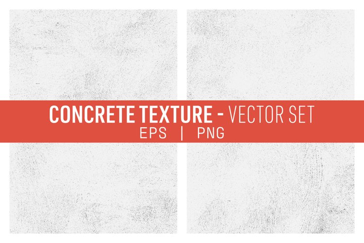 Concrete Textures Vector Pack example image 1