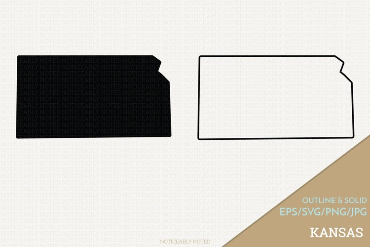 Kansas Vector / Clip Art example image 1