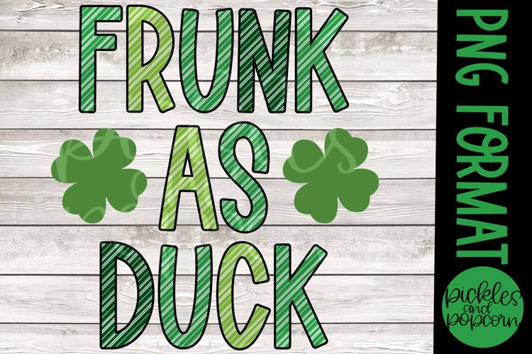 Frunk As Duck Striped example image 1