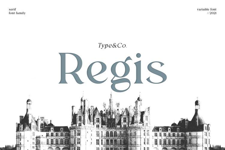 Regis example image 1