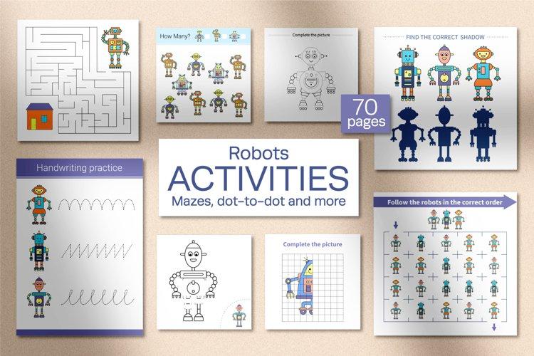 Robots Activities for kids. example image 1