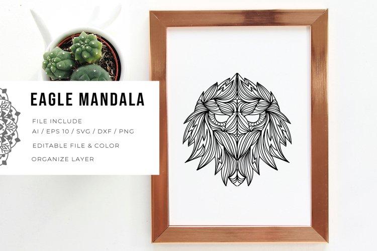 Eagle Mandala | SVG example image 1