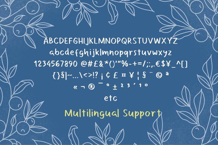 Camellio Font example 1