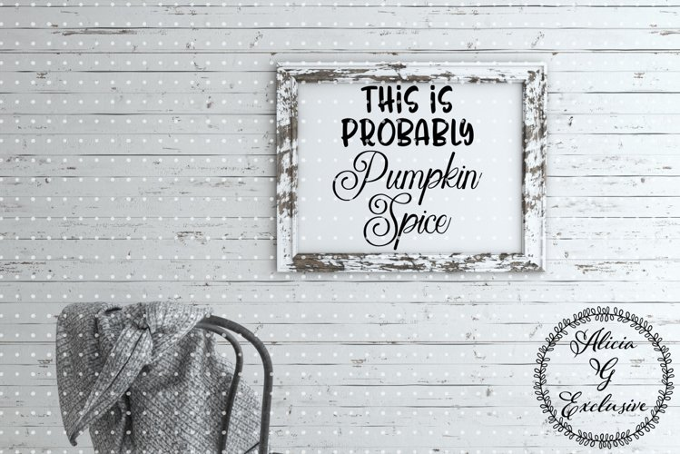 Pumpkin Spice example image 1