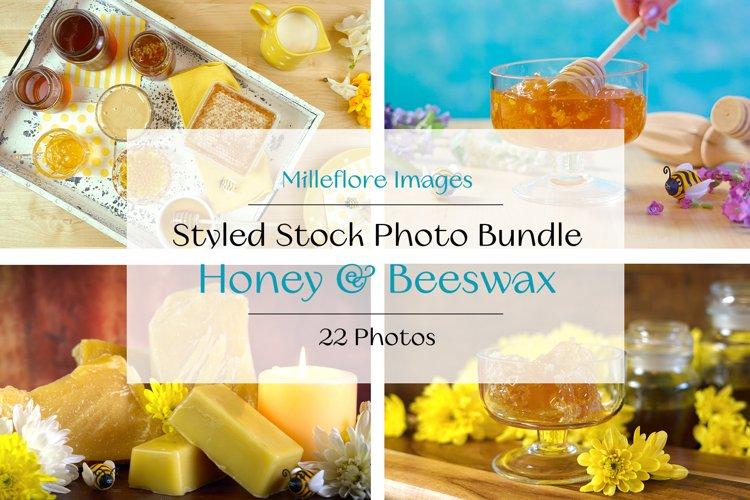 Honey & Beeswax Food Blog Hero Headers Styled Photos Bundle